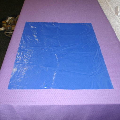POLYTHENE BAG BLUE